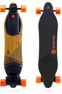 boosted board front and back